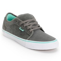 Vans x Alien Workshop Chukka Low Grey & Mint Skate Shoes