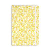 "Julie Hamilton ""Paper Daisy"" Yellow Everything Notebook"