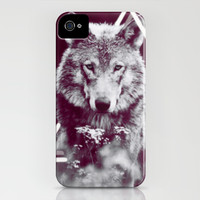 WOLF I iPhone & iPod Case by Laure.B