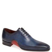 Men's Magnanni 'Vito' Medallion Toe Leather