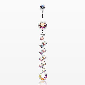 Journey Tier Sparkle Belly Ring