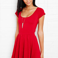 Sparkle & Fade Raglan Sleeve Wrap Dress at Urban Outfitters