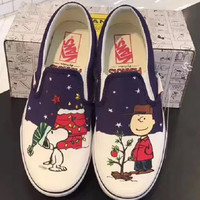 Peanuts x Vans Slip-On Casual shoes