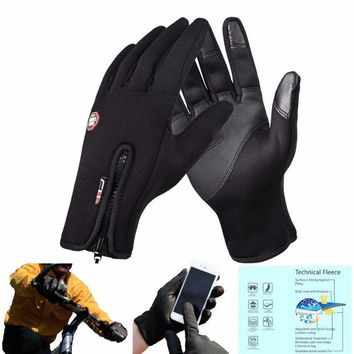 ONETOW Windproof Gloves Screen Useable winter gloves