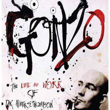 Gonzo Hunter S Thompson Movie Poster 11x17