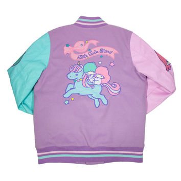Little Twin Stars Varsity Jacket