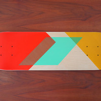 Handpainted Skateboard Deck