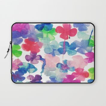 Garden Laptop Sleeve by DuckyB (Brandi)