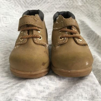 Baby Brown Boots, Teeny Toes, Absolutely Adorable! Size 4