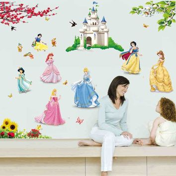 Beautiful! Princess Castle Wall Decals