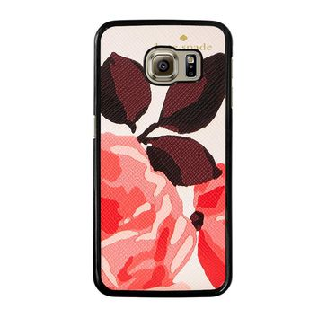 KATE SPADE CAMEROON STREET ROSES 3 Samsung Galaxy S6 Case