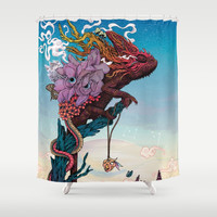 Phantasmagoria II Shower Curtain by matmiller
