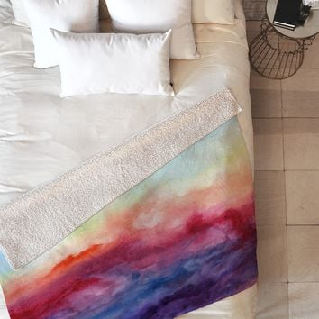 Jacqueline Maldonado Arpeggi Fleece Throw Blanket