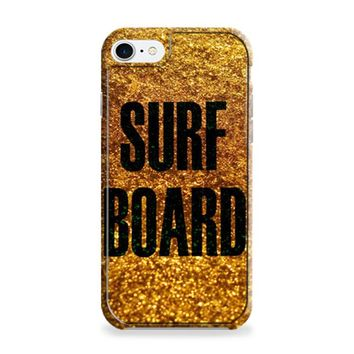 Gold Surf Board Beyonce Inspired iPhone 6 | iPhone 6S Case