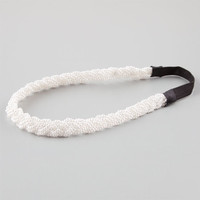 Full Tilt Faux Pear Headband White One Size For Women 25154615001