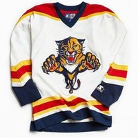 DCCKWV6 Vintage NHL Florida Panthers Hockey Jersey - Urban Outfitters