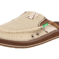 Sanuk You Got My Back II Natural Tan Loafers