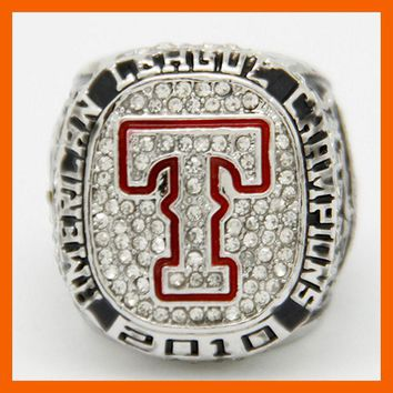 Texas Rangers: Replica 2010 American League Champions Ring