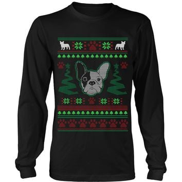 french bulldog christmas sweater the nautical ugly christmas sweater flex from lastearth on 7030