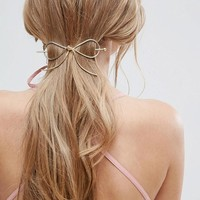 ASOS Bow Hair Stick at asos.com