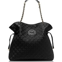 MARION QUILTED SLOUCHY TOTE