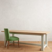 Cropland Dining Table by Anthropologie Natural