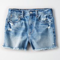 Mom Short, Royal Blue