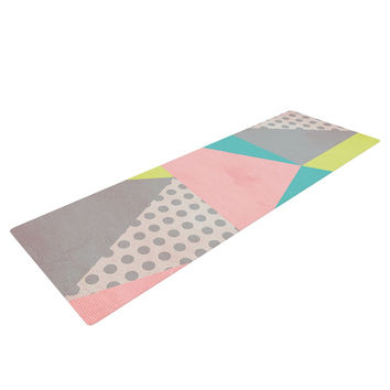 "Louise Machado ""Geometric Pastel"" Yoga Mat"