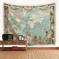 The British Empire Wall Tapestry Print Indian Mandala Tapestry Wall Hanging Tapestries Beach Towel Yoga Mat Sofa Blanket -OF