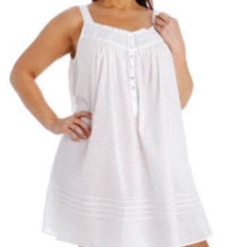 Eileen West 6315944 Plus Size Short Nightgown