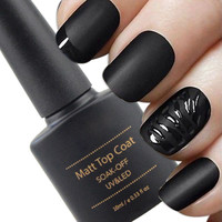 10ml Cleaning Matt Top Coat Matt Lacquer Gel Nail Polish Matte Nail Primer Layer Varnish Matte Nail Polish To Strengthen Nails