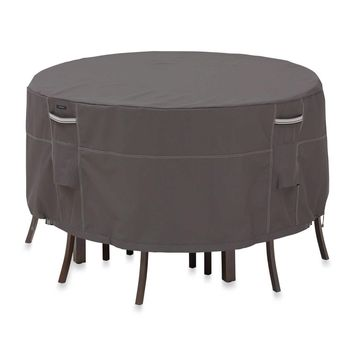 Classic Ravenna Patio Table & Chair Set Cover - Round Medium