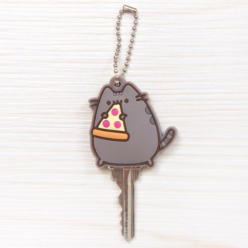 Pizza Pusheen key cap