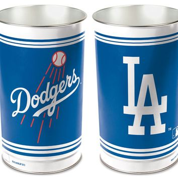 Los Angeles Dodgers Wastebasket 15 Inch