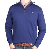 The Charleston Zip in Captain's Blue by Southern Point Co.