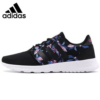 Original Adidas NEO Label CLOUDFOAM QT RACER W Women's Skateboarding Shoes Sneakers