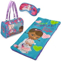 Disney 3-pc. Doc McStuffins Sleepover Set - Girls (Blue)