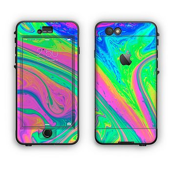 The Neon Color Fushion V3 Apple iPhone 6 Plus LifeProof Nuud Case Skin Set