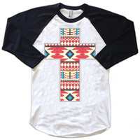 Red Aztec Cross