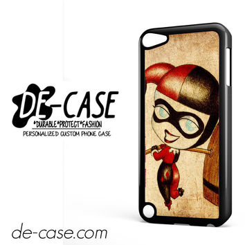 Harley Quinn And Joker Art Couple Case Device 2 DEAL-5070 Apple Phonecase Cover For Ipod Touch 5