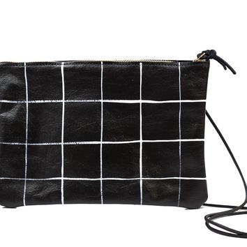 Painted Graph Convertible Clutch