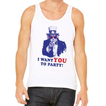 I Want You to Party Unisex Tank