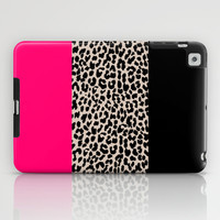 Leopard National Flag IV iPad Case by M Studio