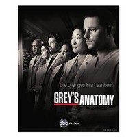 Grey's Anatomy 2010 Small Poster> 2010 Poster> Grey's Anatomy TV Store