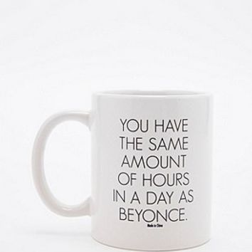 Same Hours as Beyonce Mug - Urban Outfitters