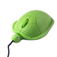 OOOUSE Turtle Optical Mouse Pc Laptop, Green