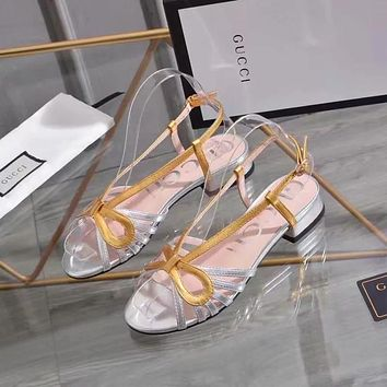 GUCCI Fashion casual sandals