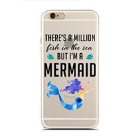 Clear Snap-On case for iPhone 5/5S - There'S A Million Fish In The Sea, But I'M A Mermaid (C) Andre Gift Shop