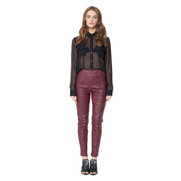 Freja Leather Legging