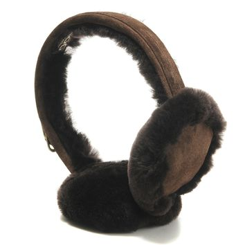 UGG Woman Men Fur Winter Warm Earcap Earmuffs